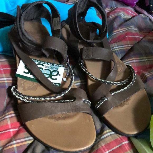 216d78a2cec4 Merrell Henna Espresso Gladiator Strappy 10 Sandal